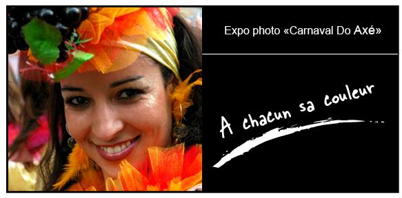 Exposition photo du carnaval do axe