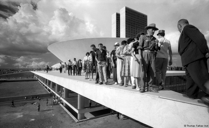 Brasilia en construction