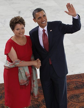 Dilma Roussef rencontre Barck Obama