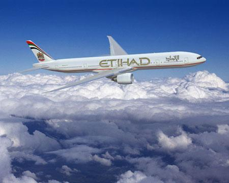 Etihad Airways arrive à Sao Paulo en juin 2013