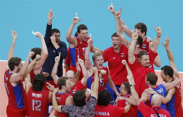 La Russie remporte la médaille d'or olympique de volleyball